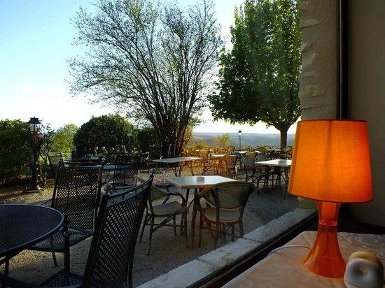 Les Vieilles Tours : View from restaurant