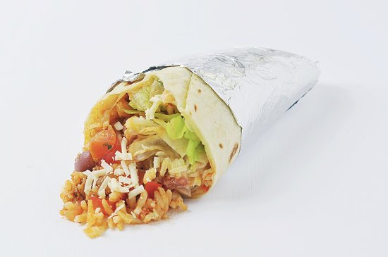 Mexican Eat Bali: The Ultimate Chunky Burrito