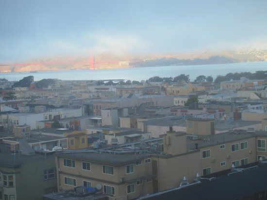 Comfort Inn by the Bay : view from our room