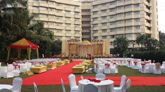 Ramada Powai: Preparations for a large wedding