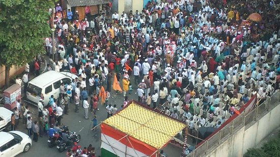 Ramada Powai: Festival in the neighboring village