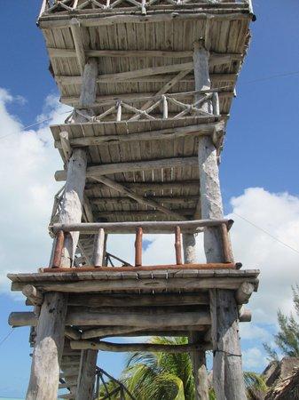 Hotel Casa Palapas del Sol : Tower