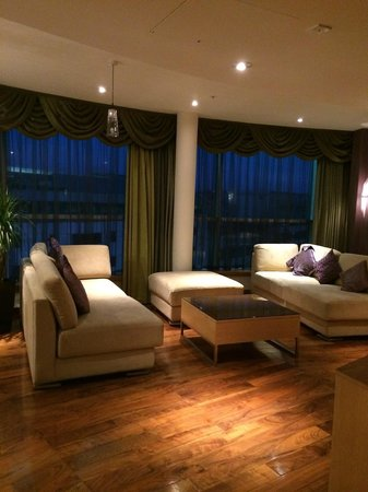 Hilton Cardiff: Lounge King Presidential Suite