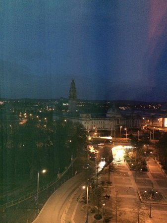 Hilton Cardiff: View From King Presidential Suite