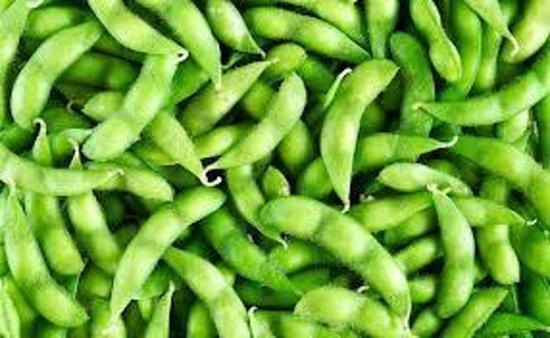 Singapura : Edamame (boiled soybean)