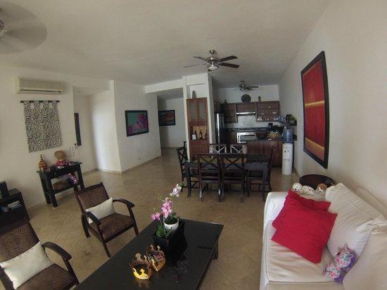 Beach Palace Cabarete: living room