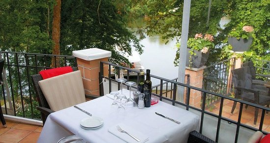 La Forchetta: Riesige Terrasse - Wunderschöner Blick auf den Halensee