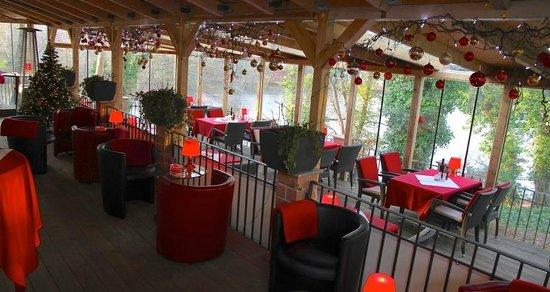 La Forchetta: Beheizter Wintergarten mit Blick auf den Halensee - Perfekt für Veranstaltungen