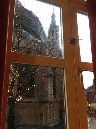 Hotel de Emauspoort : View from the room