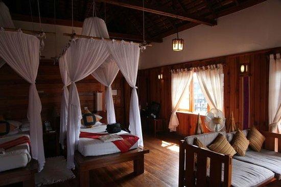 Myanmar Treasure Inle Lake : My room sans mosquitos