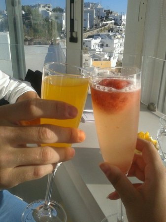 Mylos Bar Restaurant: Aperitivo romantico!!