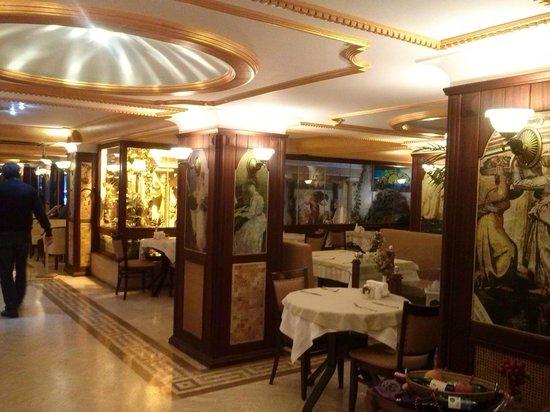 Oglakcioglu Park Boutique Hotel: Dining room