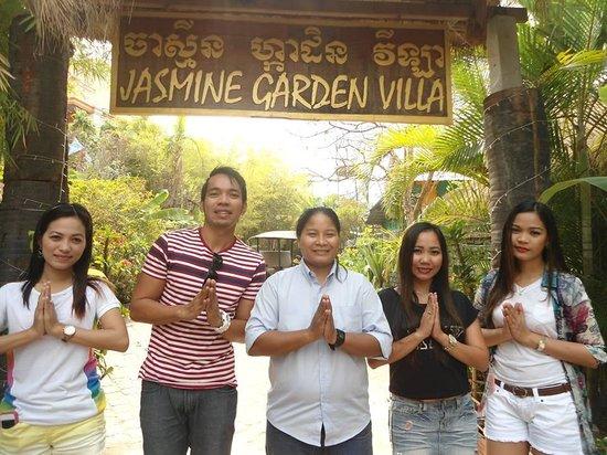 Jasmine Garden Villa: my friends and sophea