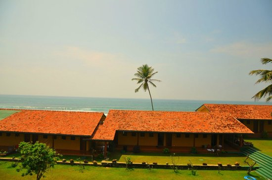 Club Koggala Village: Вид с балкона