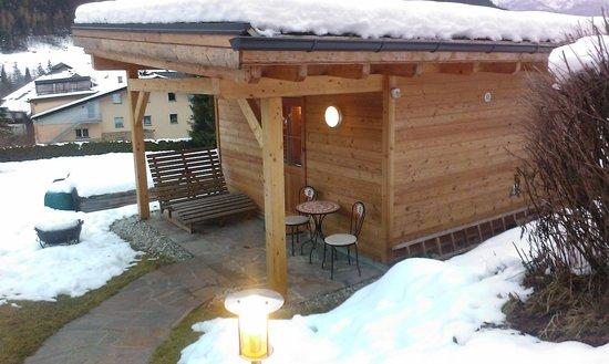 Hotel Sonnenheim: sauna finlandese all'aperto