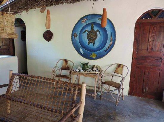 Fairytale Villa & Guesthouse : part of the terrace