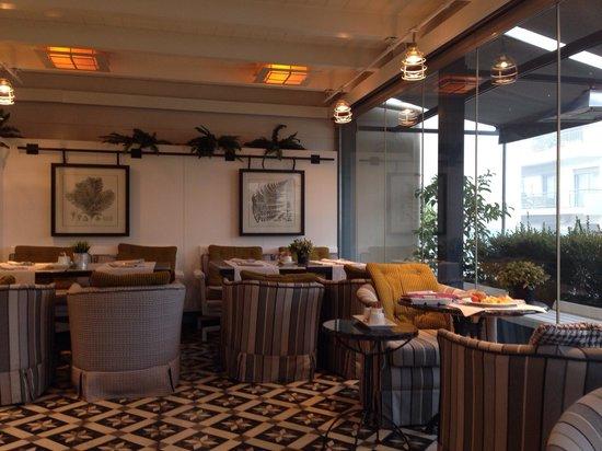 The Excelsior: Sala colazione
