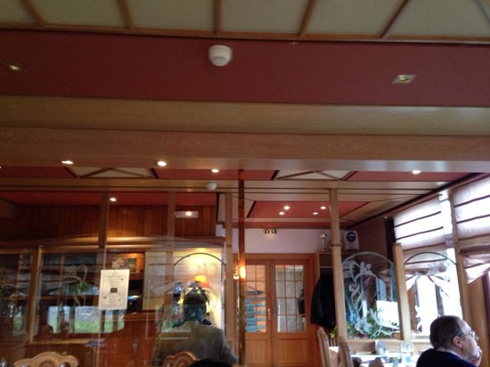 Hotel Restaurant de Paris : Salle de restau