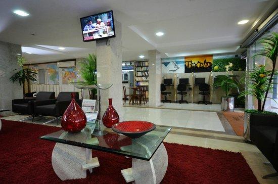 Sabino Palace Hotel : Hall da Recepção