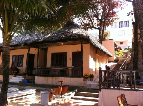 Kim Hoa Resort : BUNGALOW SUR PLAGE