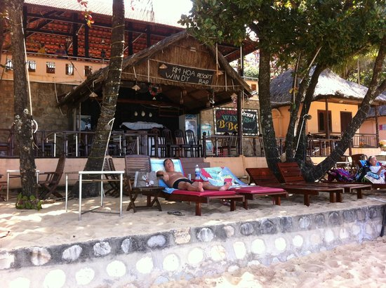 Kim Hoa Resort : LE BAR SUR LA PLAGE