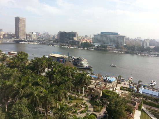 Novotel Cairo El Borg: Nile view from my room