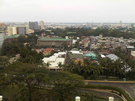 Waterfront Cebu City Hotel & Casino: View of the city from my room