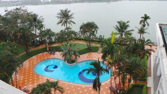 Century Riverside Hue Hotel : vue de la chambre 409