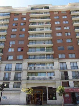 Chileapart.com: fachada do prédio