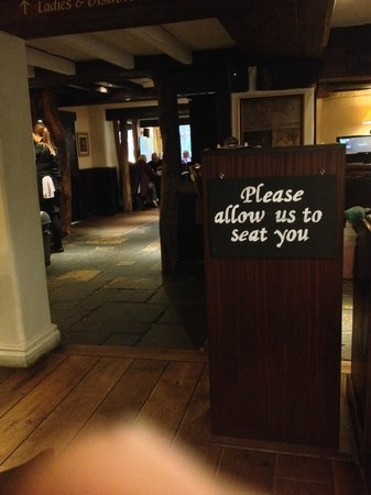 The Old Mill : Restaurant reception