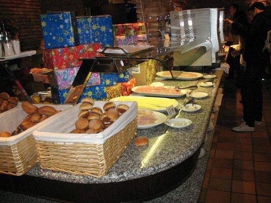 Hotel Rialto : breakfast