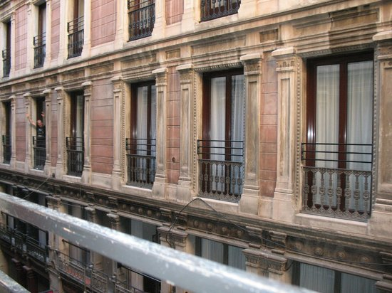 Hotel Rialto : the windows of the rooms