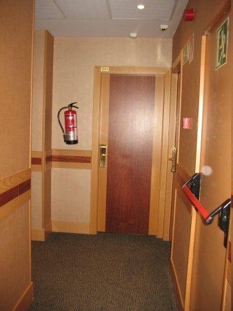 Hotel Rialto : the room
