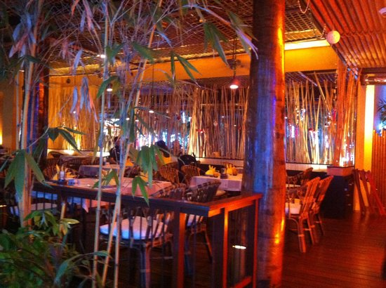 Bamboo House Phuket : Restaurant