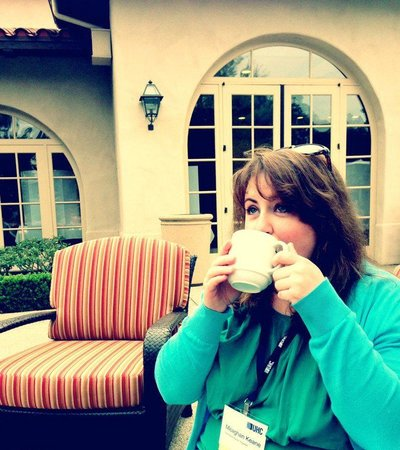 Rancho Bernardo Inn: Breakfast on the veranda