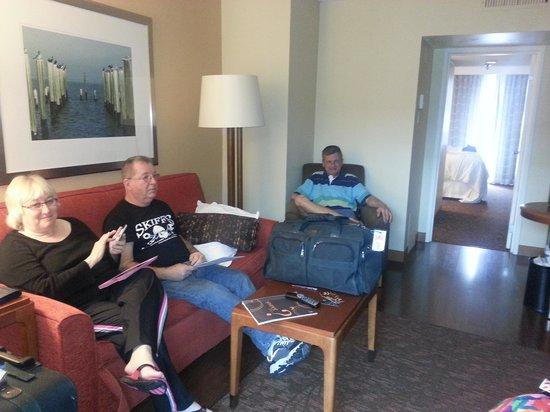 Sheraton Suites Tampa Airport Westshore : 1 bedroom suite