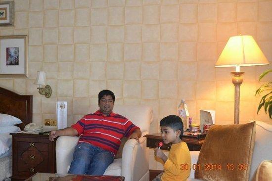 Jood Palace Hotel Dubai : Our Room