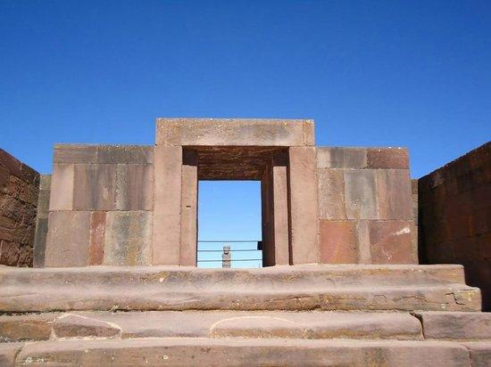 Tiwanaku : Templo