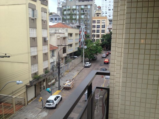 Collins Trade Hotel : Vista da varanda