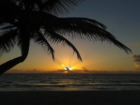 Playa Xcanan Cabanas Tulum: alba