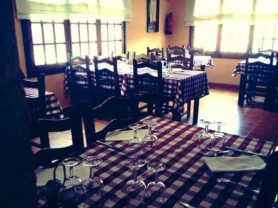 Menjador principal del Restaurant Mas del Plata