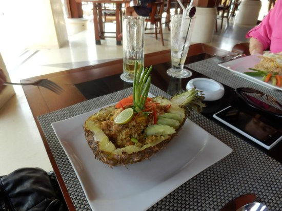 The Patio Restaurant: Pineapple Rice