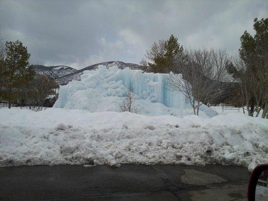 Homestead Resort : Frozen Fountain