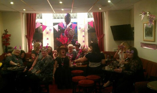 The Albany Hotel on Albert Road: bettys 70th