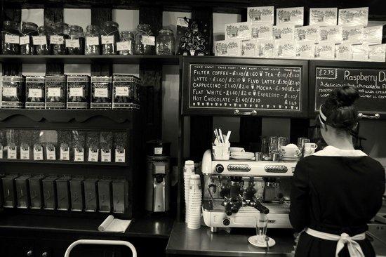 Stokes High Bridge Cafe: Take-away drinks menu