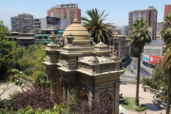 Cerro Santa Lucía: parque