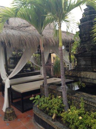 Terrasse des Elephants: Spa