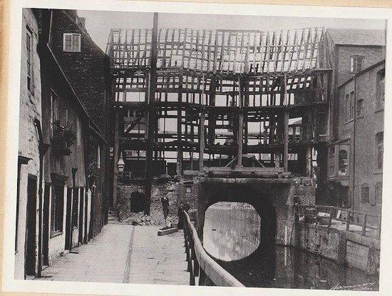 Stokes High Bridge Cafe: High Bridge renovations 1901-02