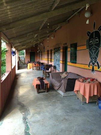 Amapondo Backpackers Lodge: vor den zimmern
