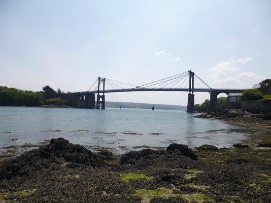 Le passeur du trieux : pont de lezardrieux